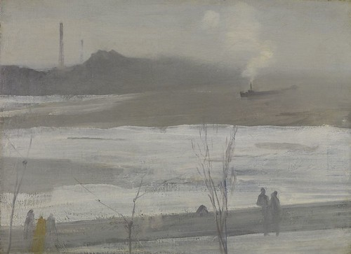 James McNeill Whistler, Chelsea in Ice-1