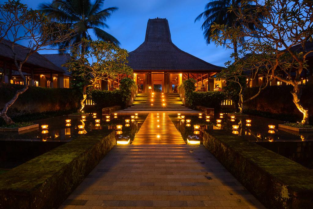 Maya Entrance at Twilight