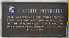 Photo of Brown plaque number 12891