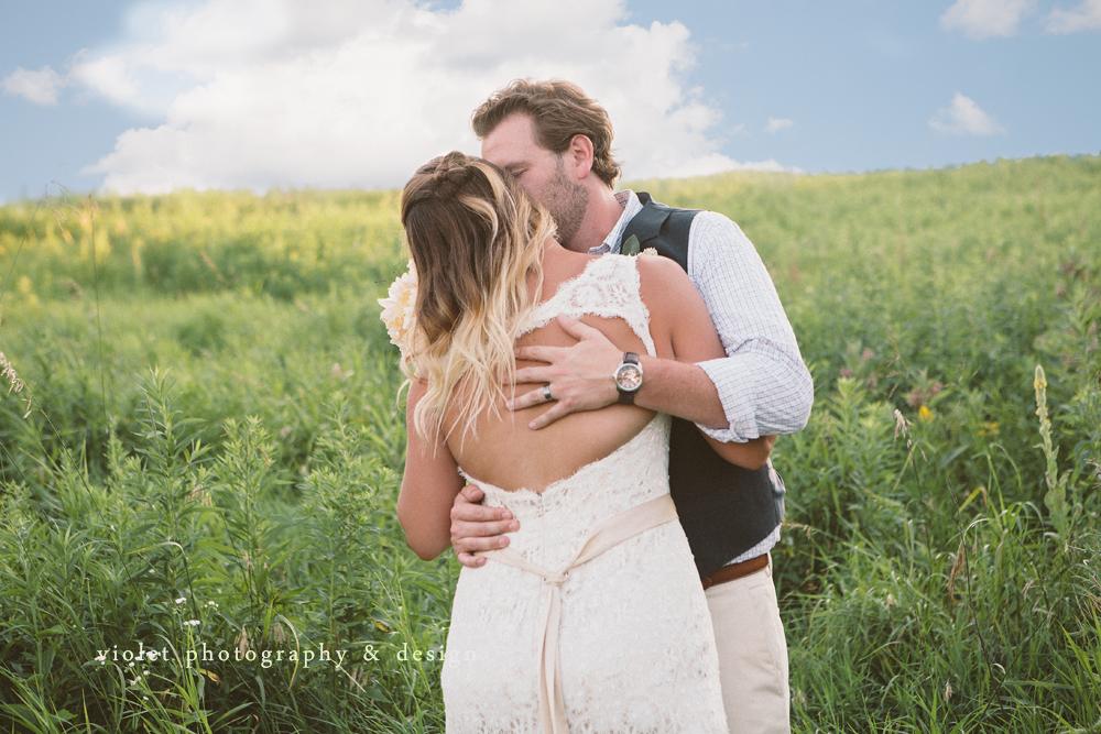 Loving groom