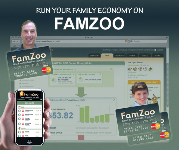 Happy Holidays! Teach your kids good spending, saving, and GIVING habits with FamZoo's online family banking system and prepaid cards. Use Coupon code HOLIDAY2014 for an extra free month. by FamZoo, Inc.