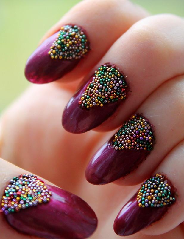 Caviar nail art (4)