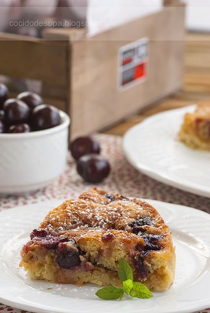 Pastel manzana y cerezas_1
