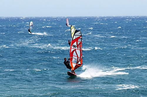 Windsurfing El Médano, Tenerife