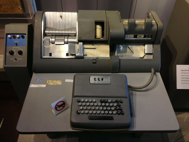 Card punch printer/collator