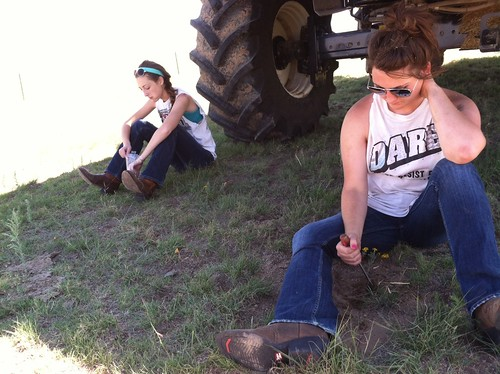 Z Crew: a break from blowin off the combine
