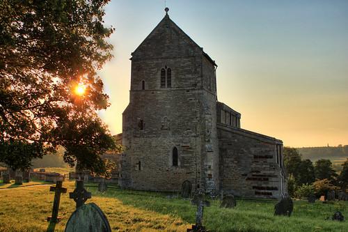 england church sunrise stmichaelandallangels wadenhoe canoneos500d eastnorthamptonshire summer2011