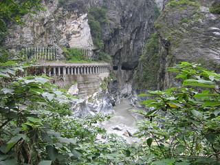 Taroko Gorge tunnels in 花蓮縣