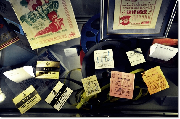 Movie Tickets from the Olden Days