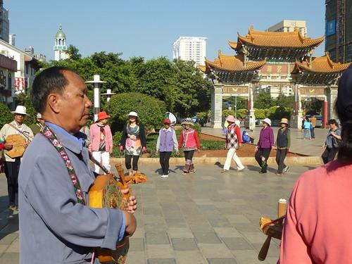 Yunnan13-Kunming-Place Jinmabiji (5)