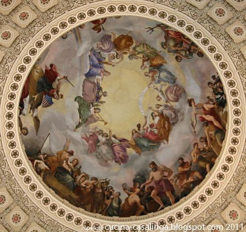 Kuppel Capitol Gemaelde