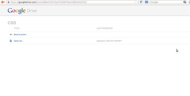 Google Drive as free CDN to your website by Anil Kumar Panigrahi - Screen 17
