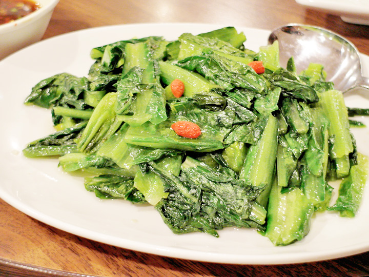 Stir‐Fried Taiwan Lettuce With Garlic