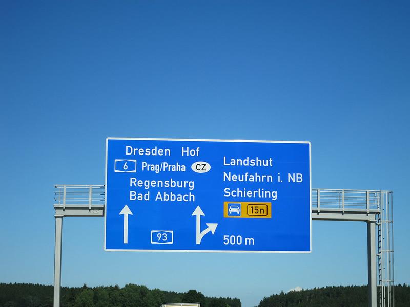 Heading to Regensburg.