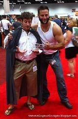 Wolverine Menaces Frodo - Gen Con 2013