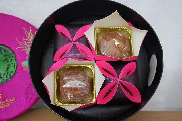 shangri-la kuala lumpur - traditional mooncakes -2014