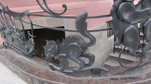 Cats St. Petersburg by Anna Amnell