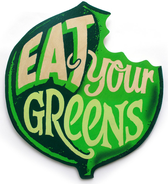 Eat Your Greens by Andy Smith