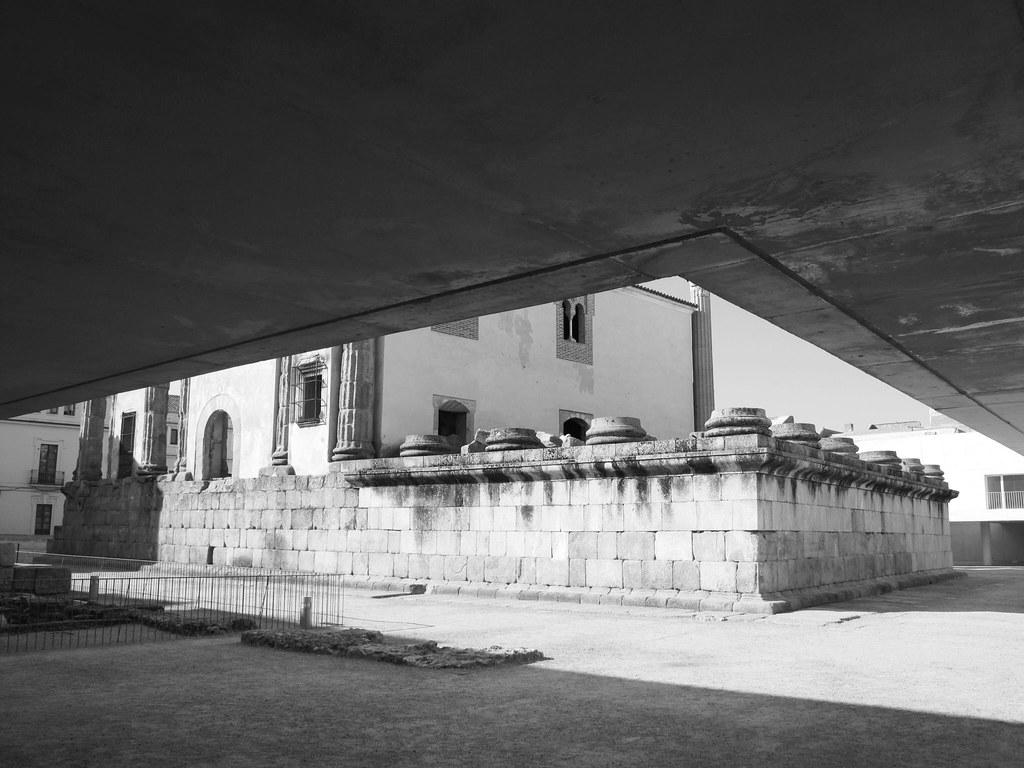 Templo de Diana_intervención entorno_José María Sánchez García