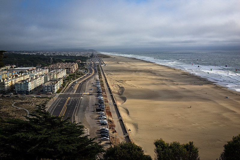 ocean beach vista {south}