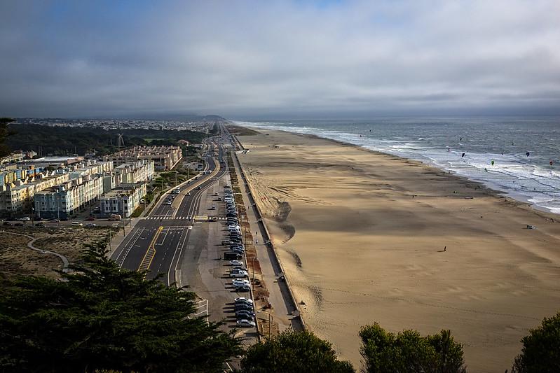 ocean beach vista {south}