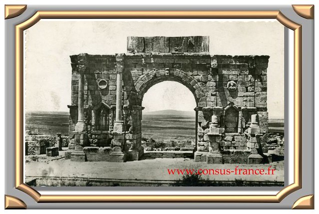 VOLUBILIS, Arc de Triomphe