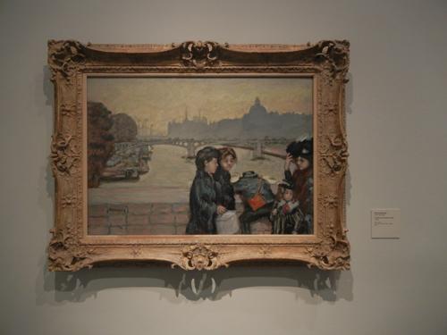 DSCN7959 _ Le Pont du Carrousel à Paris, c. 1903, Pierre Bonnard (1867-1947), LACMA