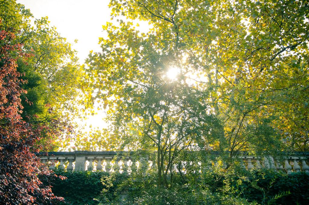 Au Parc des Buttes Chaumont