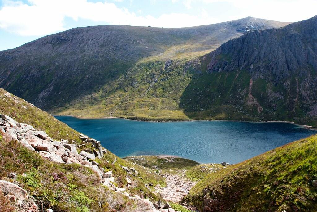 Beinn Mheadhoin and Loch Avon