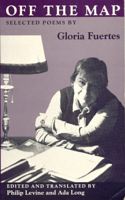 Cubierta de Off de Map: Selected Poems by Gloria Fuertes