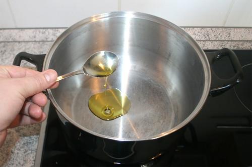 14 - Öl erhitzen / Heat up oil