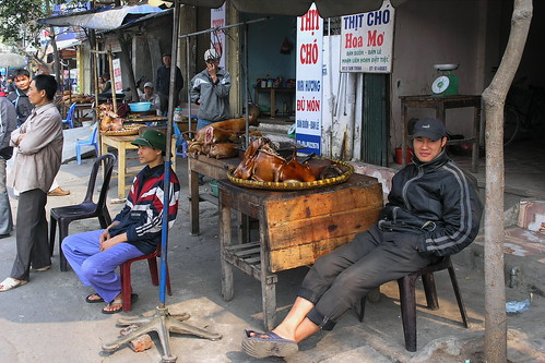 vietnam hanoi dogbutcher asienmanphotography