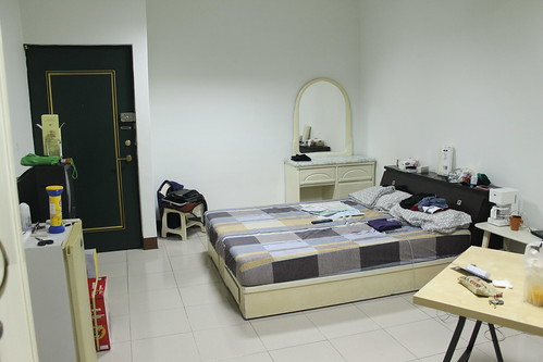 Our apartment in Kaohsiung.