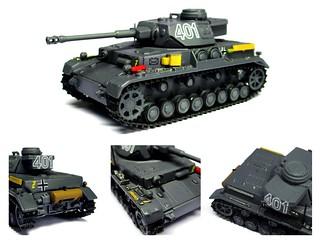 DeAgostini - 1942 Pz.Kpfw. IV Ausf.G (Sd.Kfz. 161/1) 19.Pz.Div., Sgfonovo (USSR)