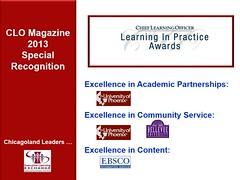 CLO LearningInPractice Awards