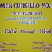 2013 Sacramento Filipino Women's Cursillo, #34, October 17-20, 2013