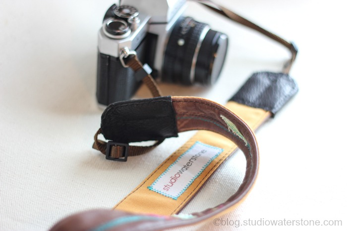 Recycled Leather Camera Strap