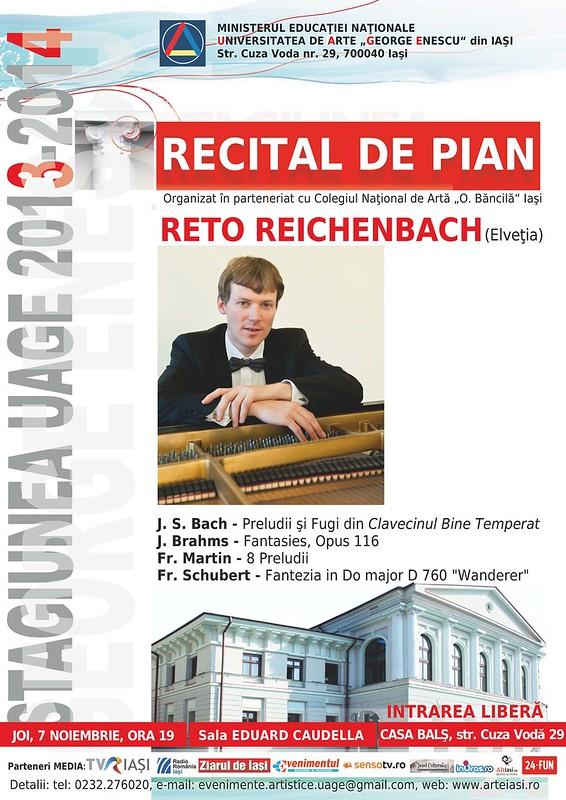 2013.11.07.Recital pian Reto Reichenbach