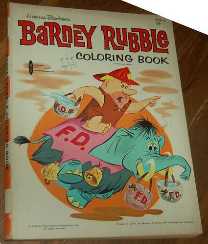 coloring_barney