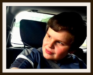 John im Auto