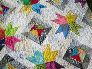 Star Value pattern from Happy Quilting