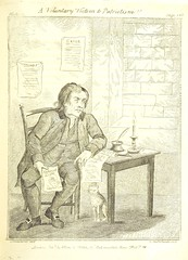 """British Library digitised image from page 285 of """"Eccentric excursions; or, literary and pictorial sketches of countenance, character and country in different parts of England and South Wales ... Embellished with ... prints [by J. Cruikshank]"""""""