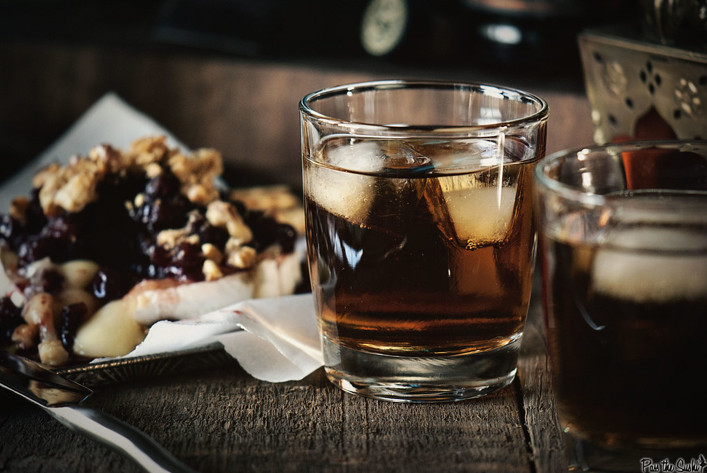 Black Almond Cocktail via PasstheSushi.com