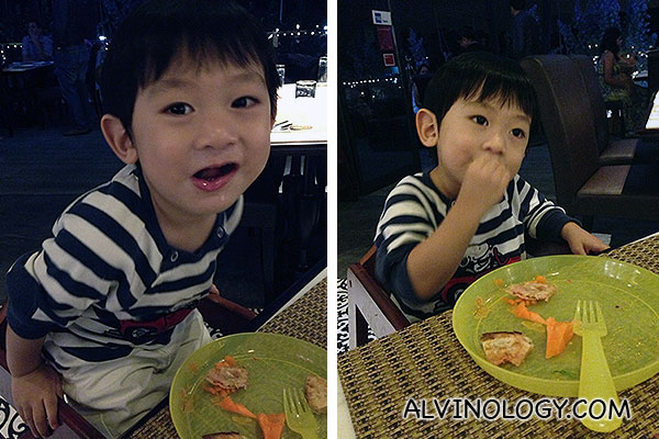 Asher don't usually take indian food, but he really loved the food at Earl of Hindh