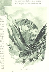"British Library digitised image from page 135 of ""'Mountain, Moor and Loch' illustrated by pen and pencil, on the route of the West Highland Railway"""