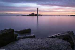 St Marys lighthouse.