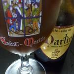 ベルギービール大好き!! サン・マルタン・ブリューン Saint Martin Brune