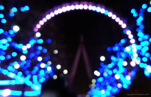 The London Eye (Bokeh effect) - London