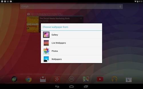 การแตะ Home screen ค้าง ไม่สามารถเพิ่ม Widget ได้ ไม่เหมือน Nexus 5