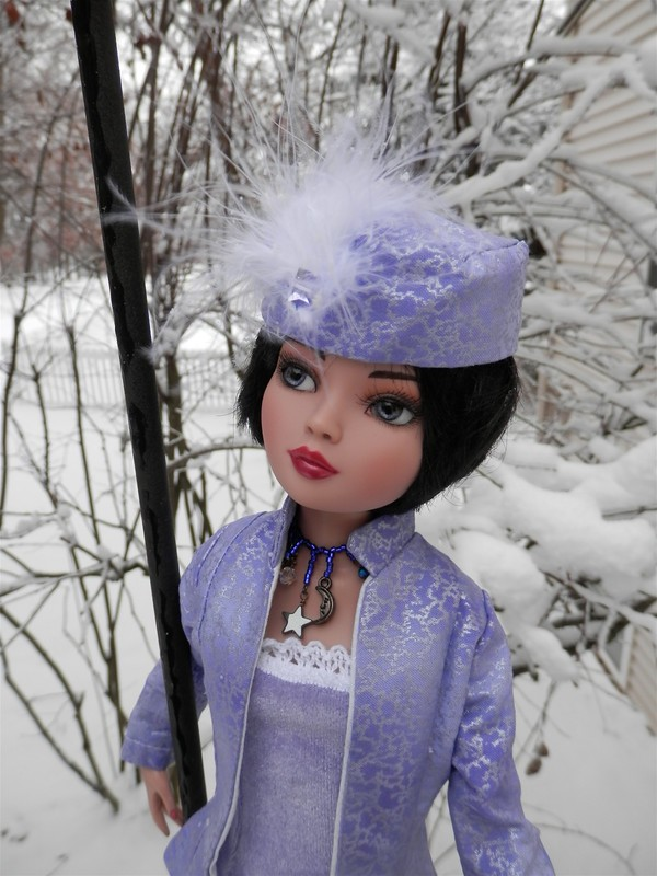 Madly Sadly Plaid Josie ~ Christmas Snow 1